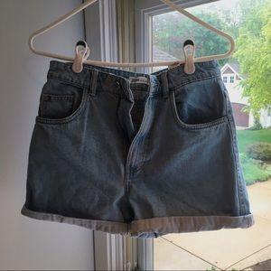 Zara Mom Jean Shorts